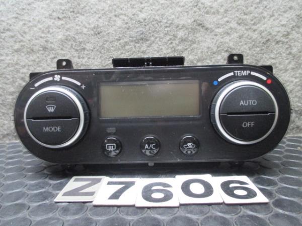 スズキ スイフト ZC71S  エアコンコンデショナーコントロールパネル  ヒーターコントロールパネル エアコンスイッチ AC No.Z7606_画像1