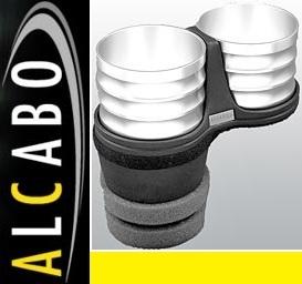 【M's】アウディ AUDI A7/S7/RS7 4G(2011y-)ALCABO ドリンクホルダー(シルバー タイプ)//社外品 アルカボ カップホルダー AL-M313S_画像1