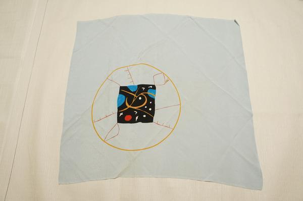 正絹ちりめんうすブルー抽象模様風呂敷E3640_ちりめんうすブルー抽象模様風呂敷