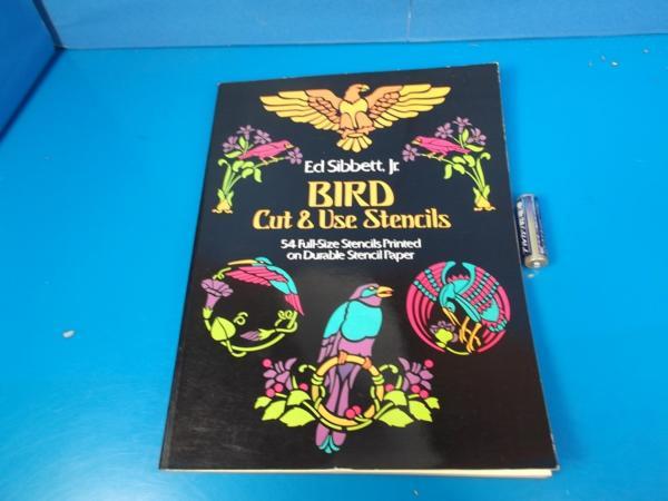 1981年 BIRD Cut&Use Stensils Edsibbett_画像1