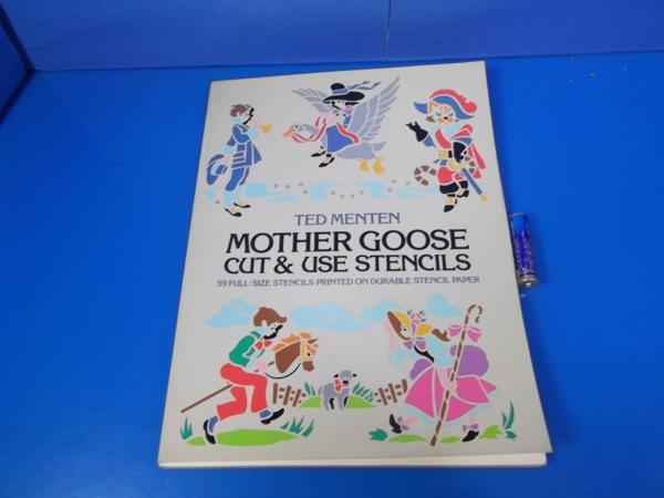 1982年 Mother Goose Cut&Use Stensils TED MNTEN_画像1