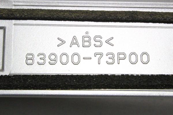 62-830★純正 後期★MA15S ソリオ★リアスポイラー シルバー Z2S_画像10