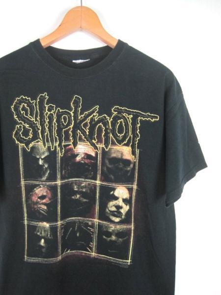 Slipknot 半袖プリントTシャツ M-Lサイズ相当 ブラック t-739