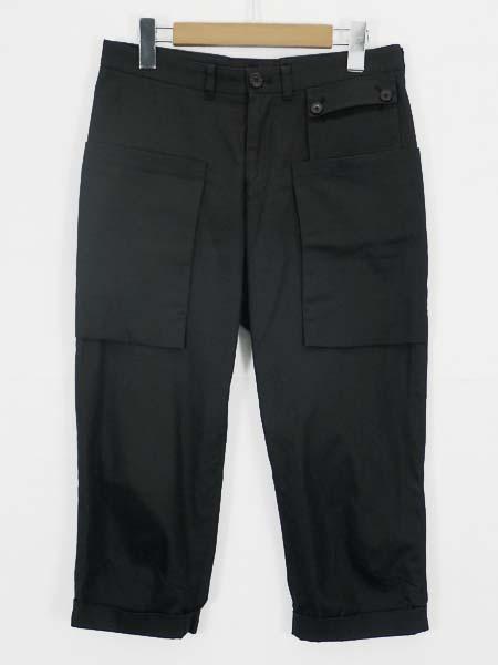 □Wooyoungmi(ウーヨンミ)デザインパンツ ブラック 46 良好!□