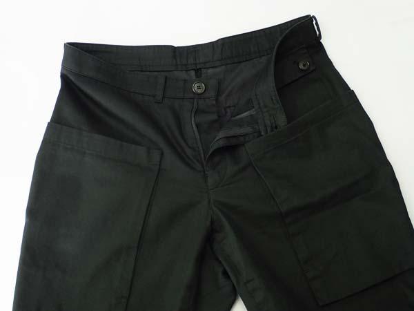 □Wooyoungmi(ウーヨンミ)デザインパンツ ブラック 46 良好!□_画像3