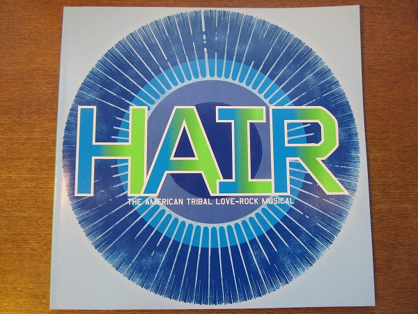ミュージカルパンフ「HAIR 2013 National Tour」日本公演