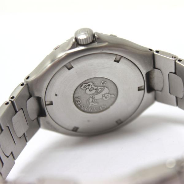 オメガ 368.1062 200m シーマスター メンズ腕時計 SS_画像6