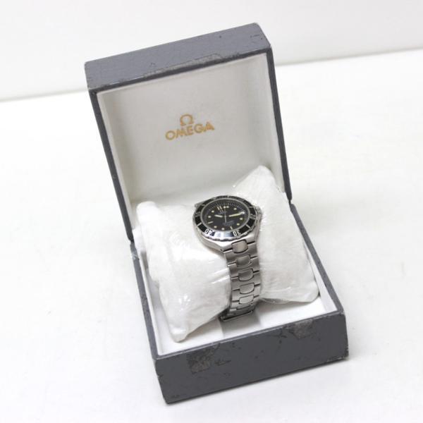 オメガ 368.1062 200m シーマスター メンズ腕時計 SS_画像9