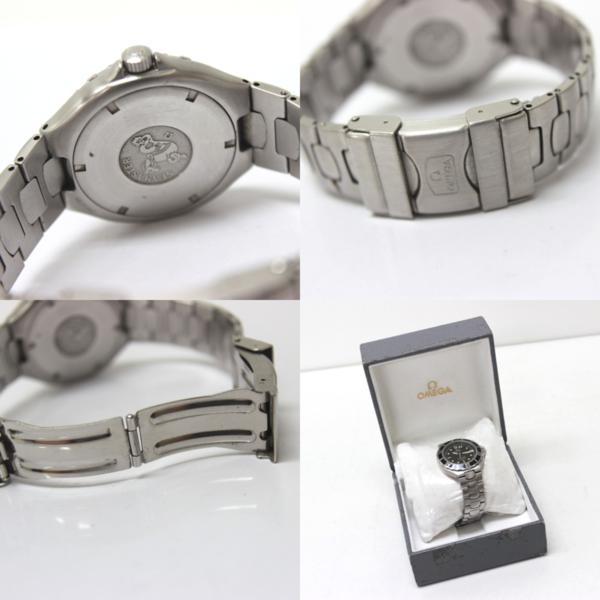 オメガ 368.1062 200m シーマスター メンズ腕時計 SS_画像10
