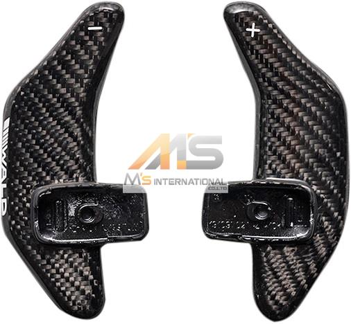 【M's】ベンツ AMG W222 W217 Sクラス/R231 SLクラス WALD カーボンパドルシフト(左右/1SET)//受注生産 社外品 パドル ヴァルド バルド_画像1