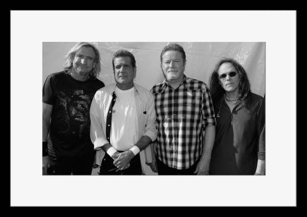 BW:人気ロックバンド!イーグルス/Eagles/モノクロ写真フレーム-3