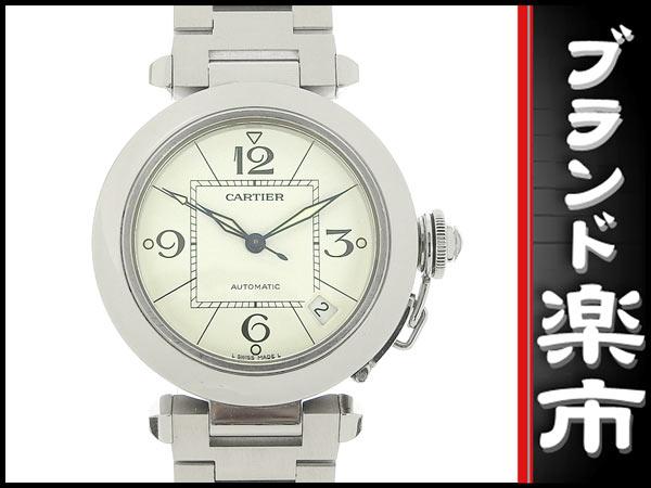 091円☆03楽市☆本物 カルティエ CARTIER パシャC ボーイズ オートマ 腕時計 2324