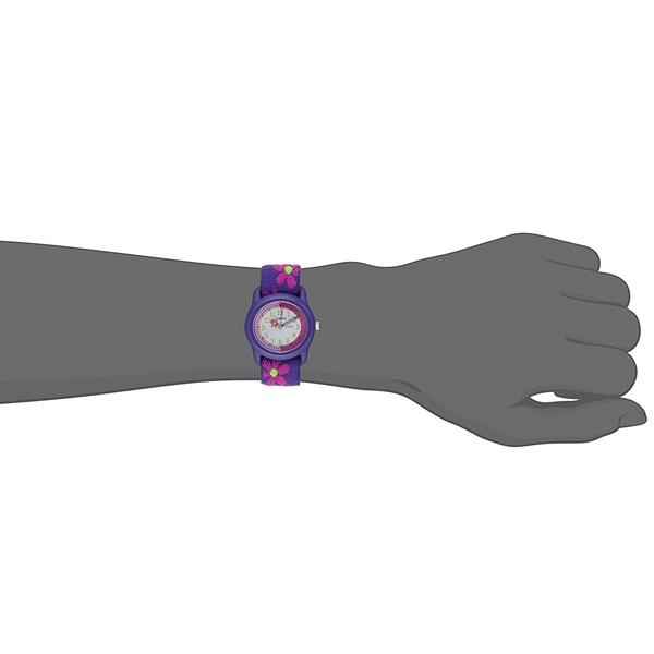 新品 即納 国内正規品 タイメックス 腕時計 キッズウォッチ タイムティーチャーBOX 置き時計セット 女の子 伸びるベルト YWG014800_画像4