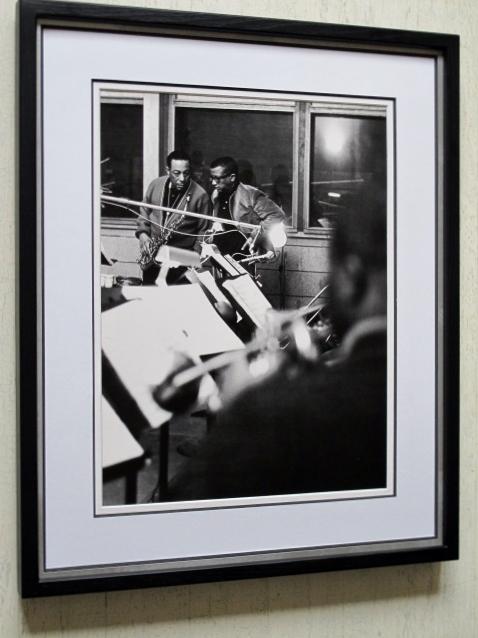 ジョニー・ホッジス/ビリー・ストレイホーン/1961/アートピクチャー額装/Johnny Hodges/Billy Strayhorn/Rudy Van Gelder Studio