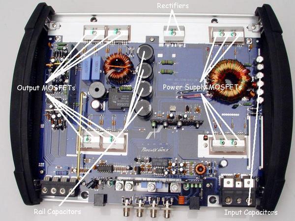 ■【USA Audio】PHOENIX GOLD 1-ch フェニックスゴールド X400.1_画像2