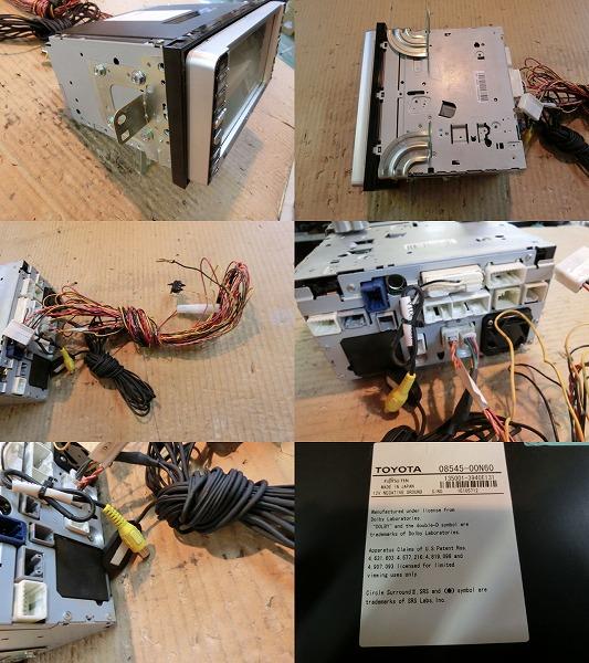 bB QNC21 HDDナビゲーションモニター NHDT-W55 ジャンク品 純正_画像3