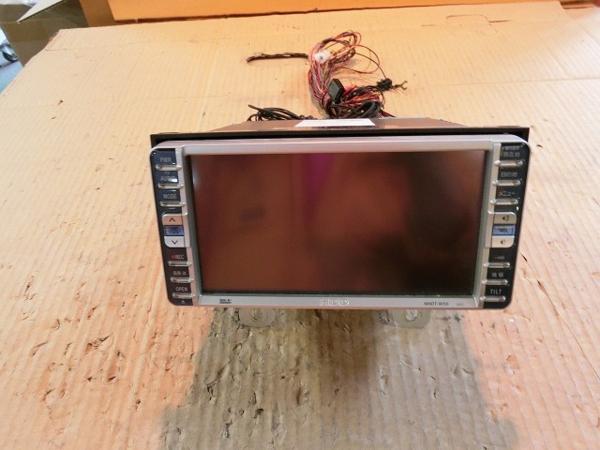 bB QNC21 HDDナビゲーションモニター NHDT-W55 ジャンク品 純正_画像1