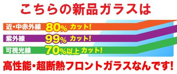 DA52W/エブリィワゴン【UV&IRカット】断熱フロントガラス★国産_画像3