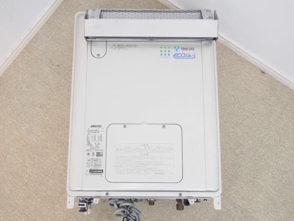 リンナイ 都市ガス屋外壁掛型24号ガス給湯器オート リモコン付 RVD-E2400AW_画像3