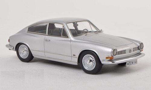 1/43 TC 145 VW フォルクスワーゲン カルマンギア シルバー 1970 Karmann Ghia TC 145 VW Neo Limited 300_画像1