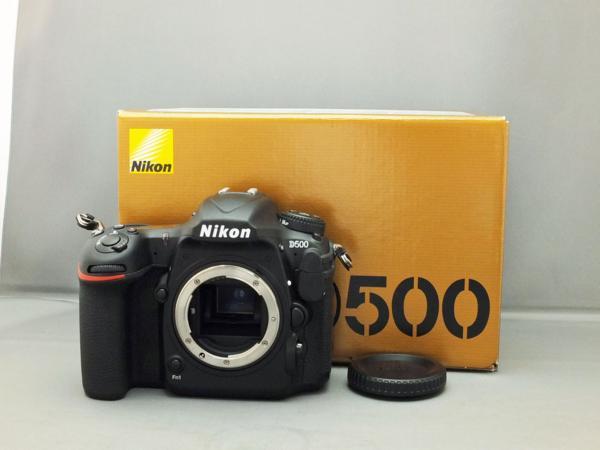 ★ 中古美品 ☆ Nikon D500 高性能デジタル一眼レフカメラ ★