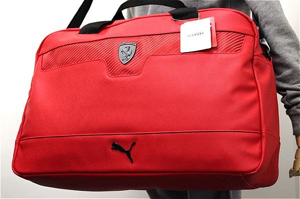 ★送料無料(税抜12000円以上)PUMA プーマ 特大 Ferrari フェラーリ 新品 ボストンバッグ