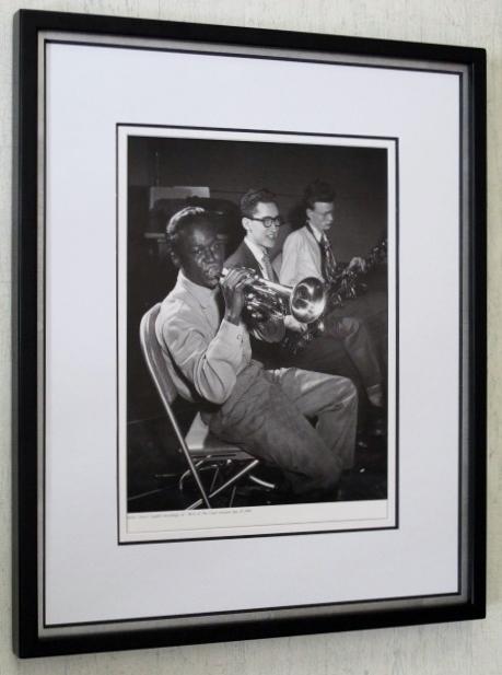 マイルス・ディビス/バース・オブ・クール セッション 1949/アートピクチャー額装/Miles Daves/Framed Historic Jazz /Birth of The Cool