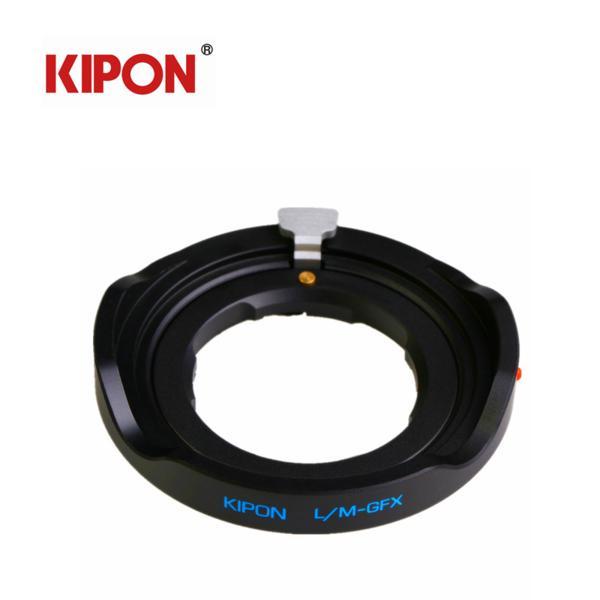 KIPON ライカLeica M レンズ LM ーFujifilm GFX 50S L/M-GFX ブラック