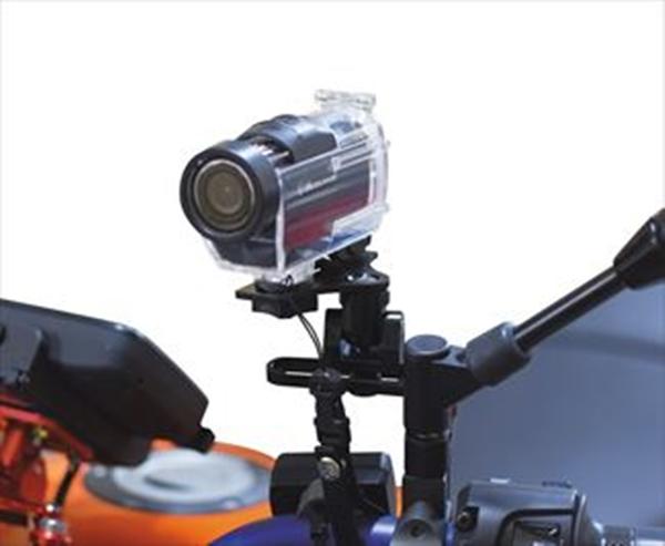 KM★数量限定 KOHKEN KOK-8013BK/KOK-8014 フレックスモバイルステー シングルアーム/カメラマウントキットSET_カメラ装着例