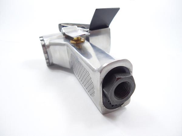 エアベルトサンダー 20mm 角度調整 替えベルト付き バリ取り 塗装剥がし スポット溶接剥がし パテ盛のならし 板金工具 【60日安心保証付】_エアベルトサンダー 20mm