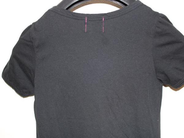 ロックスターズエンジェルス Rockstars&Angels レディース半袖Tシャツ ブラック Sサイズ _画像5