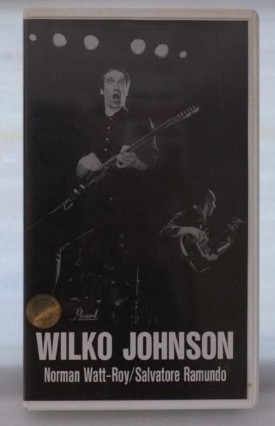 WILKO JOHNSON MACHINE GUN GUITAR★国内盤VHS[434V-AM■■■■_画像1