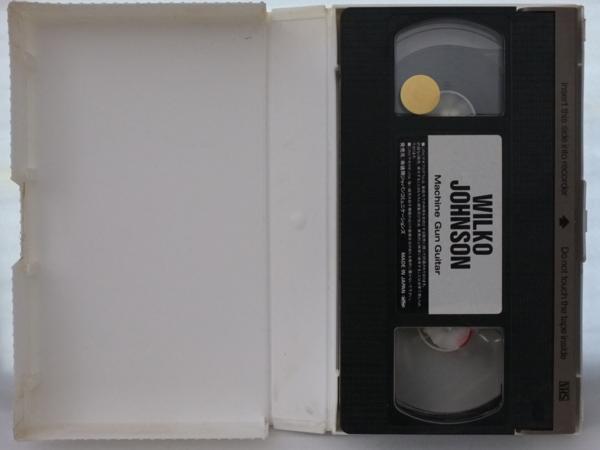 WILKO JOHNSON MACHINE GUN GUITAR★国内盤VHS[434V-AM■■■■_画像4
