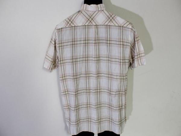 パシフィックコースト PACIFIC COAST メンズ半袖チェックシャツ Lサイズ 新品_画像3