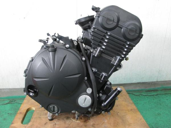 【BST】a★ニンジャ400R ER400B 実動 エンジン      ★_画像1
