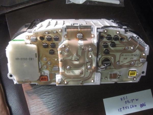 【26724】 RF1 ステップワゴン スピードメーター 159426km ⑥_画像3