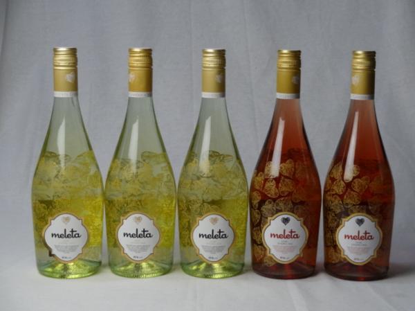 5本セット 甘口スパークリングロゼ2本 白ワイン3本 ビセン_画像1