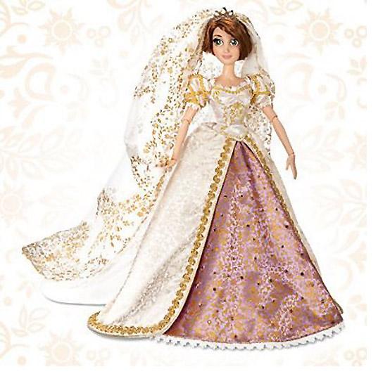 ディズニー ラプンツェル ウエディングドール 限定版/Disney Rapunzel Wedding Doll - Limited Edition (輸入品)_画像1