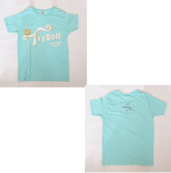 trysail チョコっとVoyage Tシャツ ブルー 麻倉もも 雨宮天 夏川椎菜 トライセイル グッズ