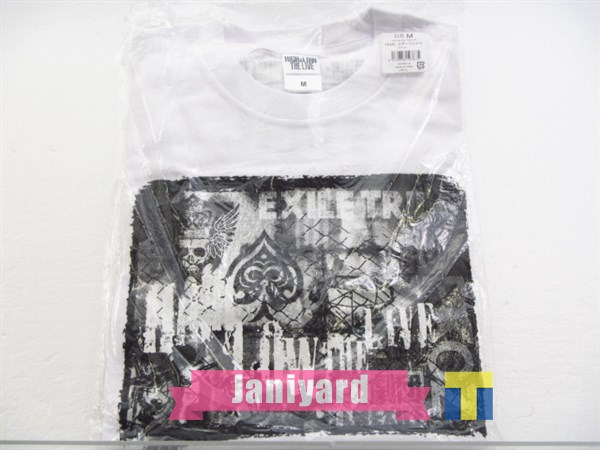 EXILE TRIBE HiGH&LOW THE LIVE FINAL ツアーTシャツ 白 サイズM 未開封 1円