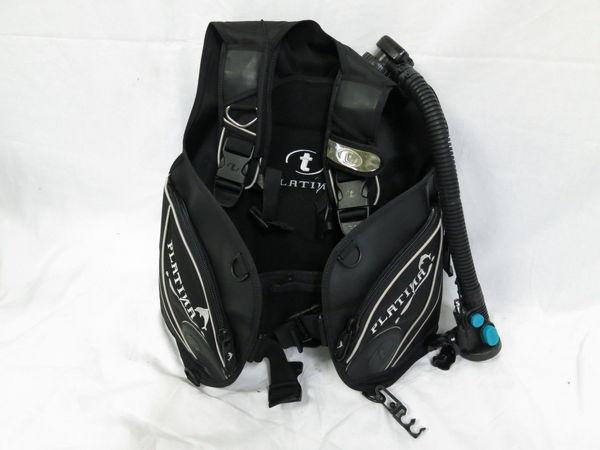 [美品1円] TUSA ツサ ダイビング BCジャケット PLATINA サイズ ブラック