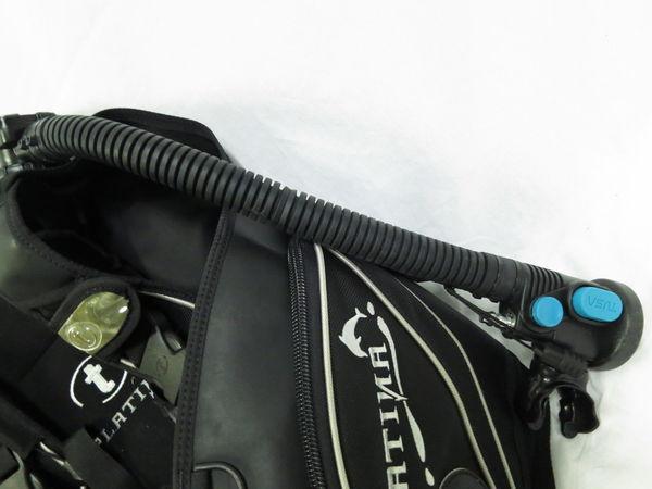 [美品1円] TUSA ツサ ダイビング BCジャケット PLATINA サイズ ブラック_画像4