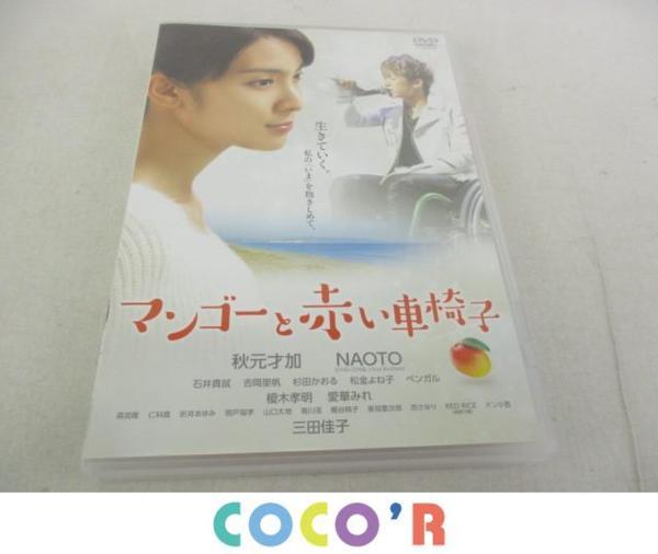 三代目JSB DVD マンゴーと赤い車椅子 秋元才加 NAOTO 美品