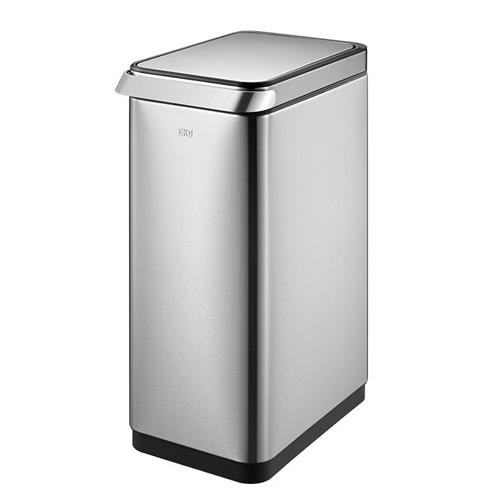 ゴミ箱 20L ふた付き 角型 ステンレス スタイリッシュ おしゃれ かっこいい 屑入れ ごみ箱 ダストボックス 1年保証 送料無料 EK9179-20L