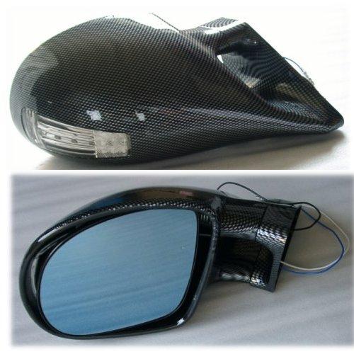 ●即決●M3タイプミラー シビック(EK4/EK9) カーボン柄 LED付 ●●_画像2