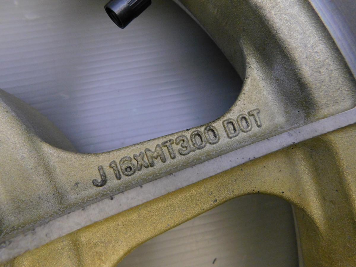 当時物◇良好 Z750スペクター 純正 リア ホイール J16XMT3.00_画像5