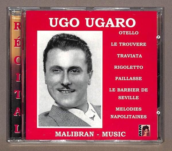 未開封 ◇ ウガーロ / イタリア オペラアリア (CD)_画像1
