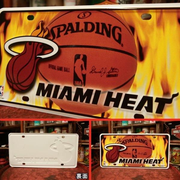 NBA マイアミ ヒート プレート◆ 看板 MIAMI HEAT UFMTG77001_画像2