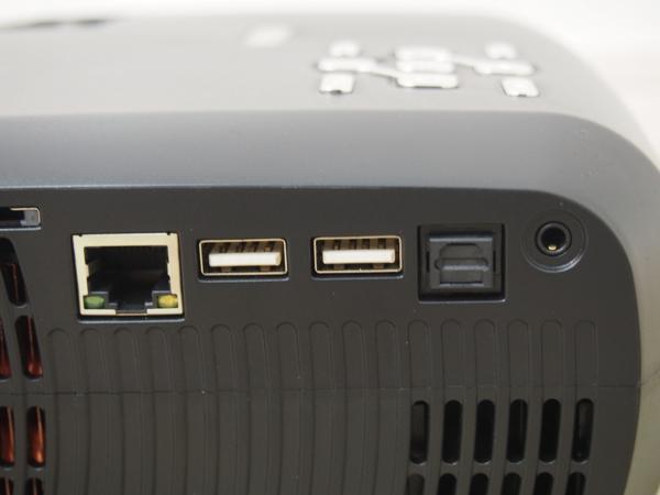 RUISHIDA ミニプロジェクター LED M3 リモコン付 未使用品_画像6