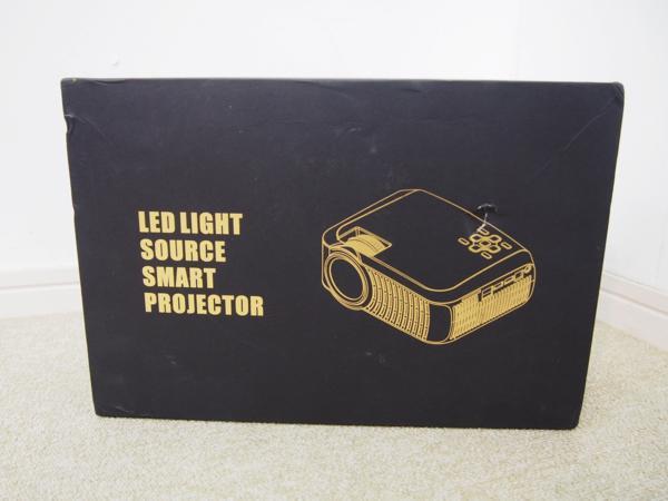 RUISHIDA ミニプロジェクター LED M3 リモコン付 未使用品_画像7